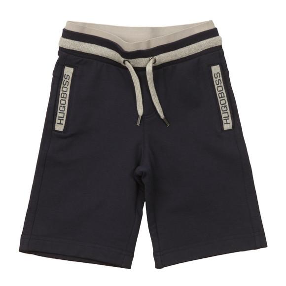 BOSS Bodywear Boys Blue Boys Logo Jersey Shorts main image