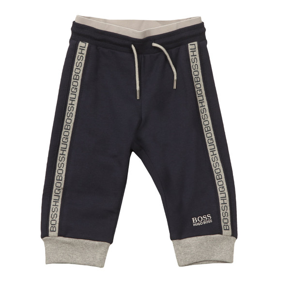 BOSS Baby Boys Blue Logo Jogger