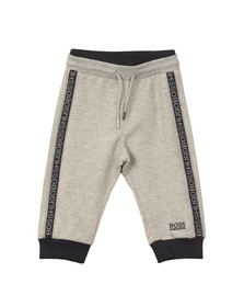 Boss Boys Grey Baby Logo Jogger