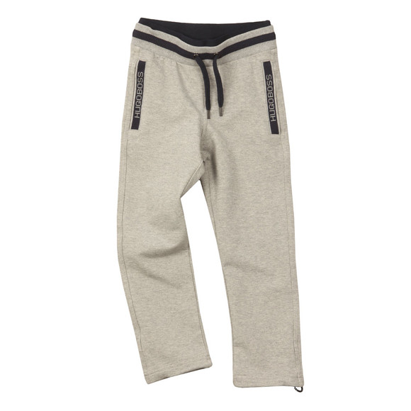 Boss Boys Grey Logo Jogger main image