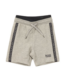 Boss Boys Grey J04257 Sweat Shorts