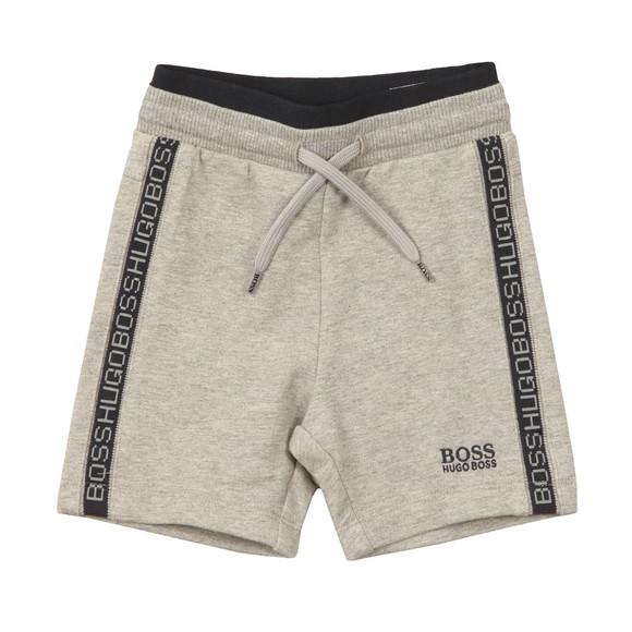 Boss Boys Grey J04257 Sweat Shorts main image