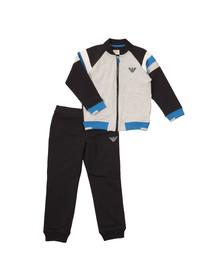 Armani Junior  Boys Grey Full Zip Tracksuit