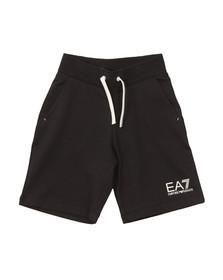 EA7 Emporio Armani Boys Blue Jersey Short