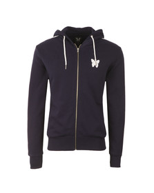 Good For Nothing Mens Blue Adonis Full Zip Hoody