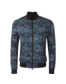 J.Lindeberg Mens Blue Thom 72 Print Poly Jacket