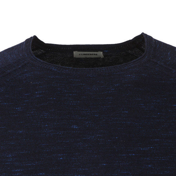 J.Lindeberg Mens Blue Fredric Dyed Knit main image