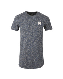 Good For Nothing Mens Blue Marl Tee