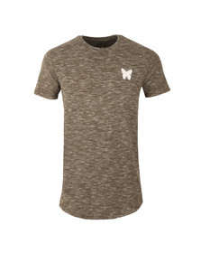Good For Nothing Mens Green Marl Tee