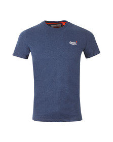 Superdry Mens Blue Vintage Embroidered Tee