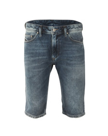 Diesel Mens Blue Thashort Denim Short