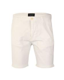 Scotch & Soda Mens White Classic Dyed Chino Short