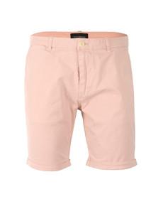 Scotch & Soda Mens Pink Classic Dyed Chino Short
