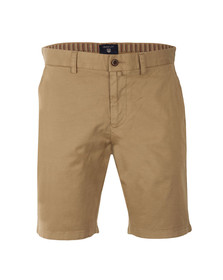 Gant Mens Beige Regular Comfort Shorts
