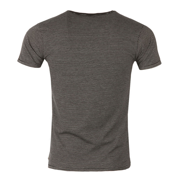Scotch & Soda Mens Black Classic Crew Neck T Shirt main image