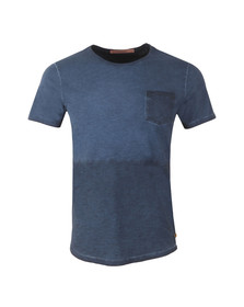 Scotch & Soda Mens Blue T Shirt In Lightweight Jersey