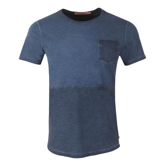 Scotch & Soda Mens Blue T Shirt In Lightweight Jersey main image