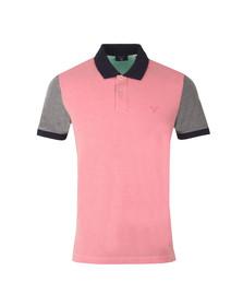 Gant Mens Pink S/S Colour Block Polo