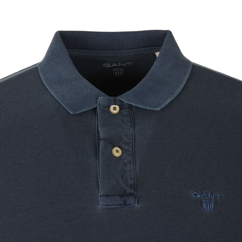 Sunbleached Pique Rugger Polo main image