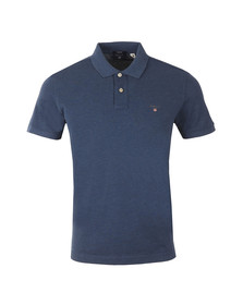 Gant Mens Blue Original Pique SS Rugger Polo