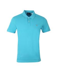 Gant Mens Blue S/S Pique Rugger Polo
