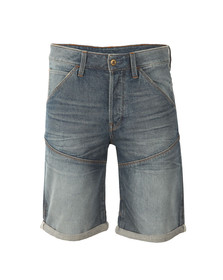 G-Star Mens Blue Tobe Denim Short