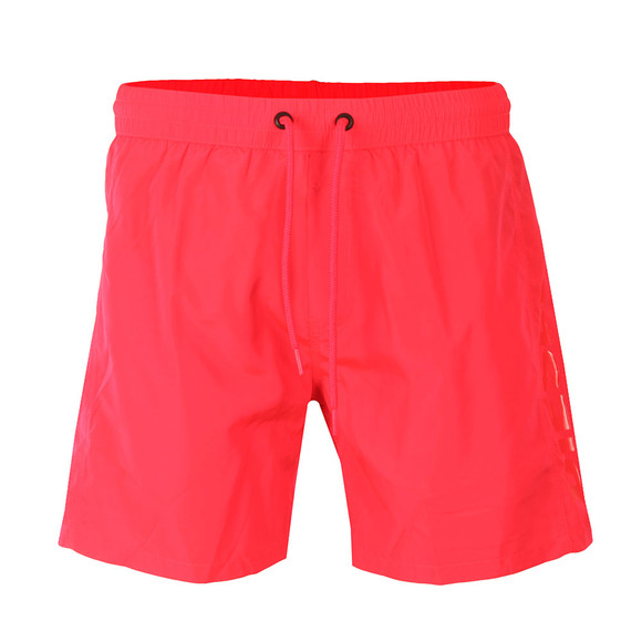 Diesel Mens Pink Wave Swimshorts main image