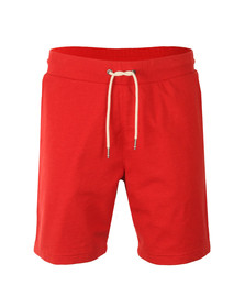 Tommy Hilfiger Mens Red Basic Sweat Short