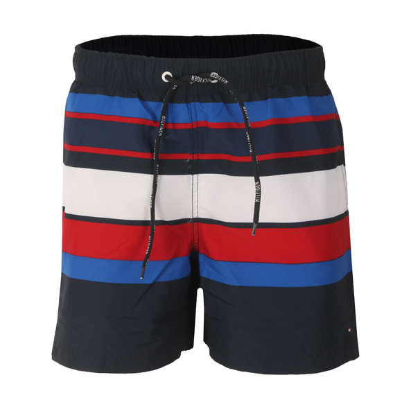 Tommy Hilfiger Mens Blue Global Swim Trunk main image