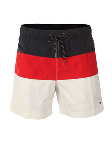 Tommy Hilfiger Mens White Block Short