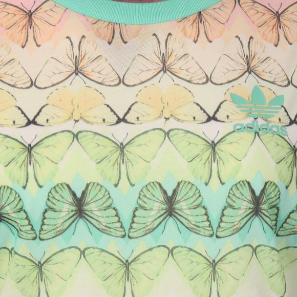 Adidas Originals Womens Multicoloured Borbofresh Tee main image