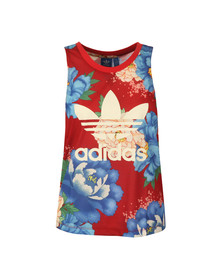 Adidas Originals Womens Multicoloured C Tank Top