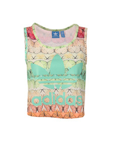 Adidas Originals Womens Multicoloured B L Crop Tank