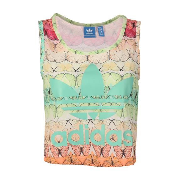 Adidas Originals Womens Multicoloured B L Crop Tank main image