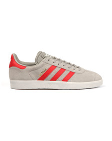 Adidas Originals Boys Grey Gazelle 2 CF Trainer