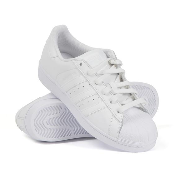Adidas Originals Boys White Childrens Superstar Trainer main image