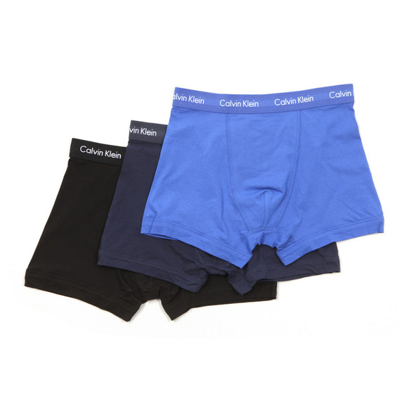 Calvin Klein Mens Black 3 Pack Trunks main image