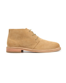 J Shoes Mens Beige Monarch Suede Boot