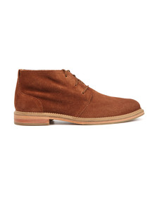 J Shoes Mens Orange Monarch Suede Boot