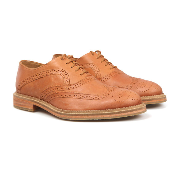 J Shoes Mens Brown Spencer Brogue main image