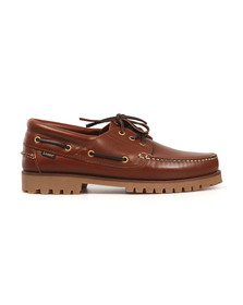 Loake Mens Brown 522 Boat Shoe