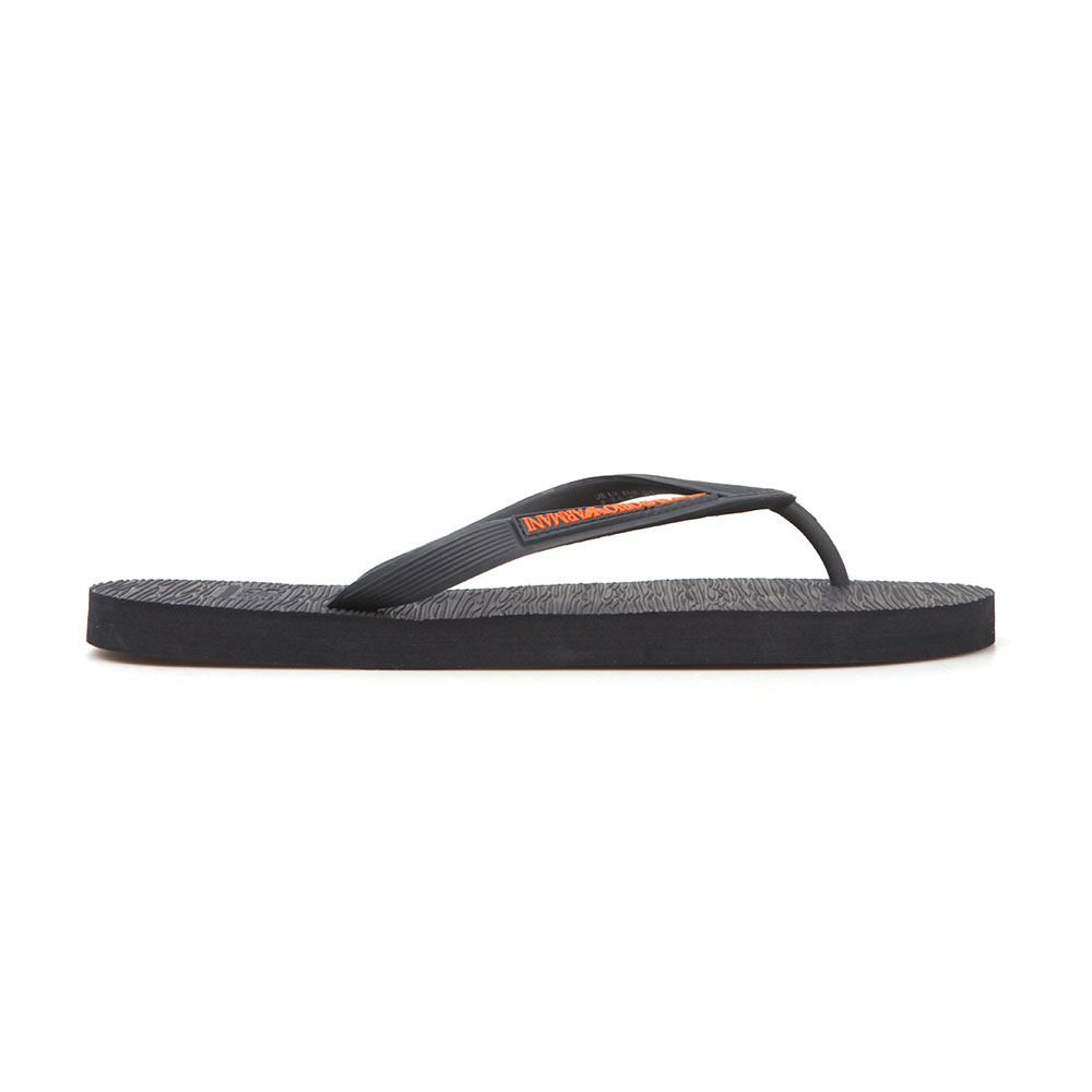 b48cb9d67 EA7 Emporio Armani Mens Blue Sea World Core Flip Flop
