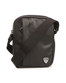 EA7 Emporio Armani Mens Black Train Soccer Pouch