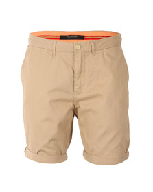 Scotch & Soda Mens Beige Pima Cotton Chino Short