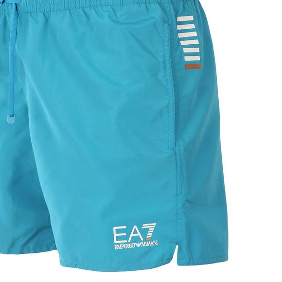 EA7 Emporio Armani Mens Blue Seaworld Core Swim Short main image