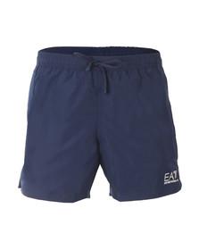 EA7 Emporio Armani Mens Blue Seaworld Core Swim Short