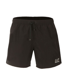 EA7 Emporio Armani Mens Black Seaworld Core Swim Short