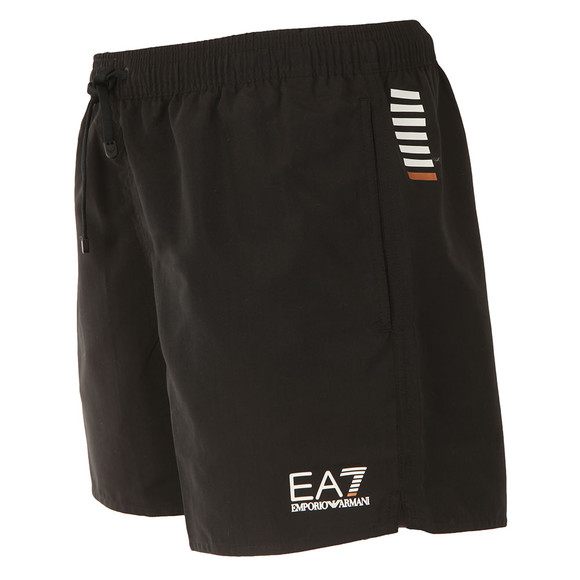 EA7 Emporio Armani Mens Black Seaworld Core Swim Short main image