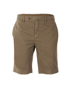 Hackett Mens Green Core Stretch Shorts