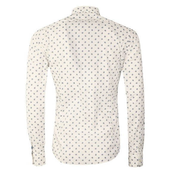 Scotch & Soda Mens White Classic Longsleeve Shirt main image